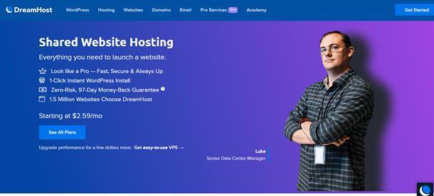 En iyi yurt dışı hosting firması - Dreamhost