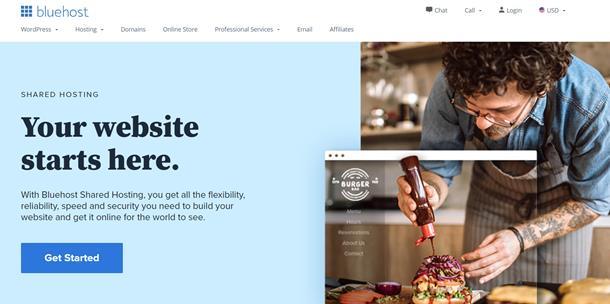 En hızlı yabancı hosting firmaları - Bluehost
