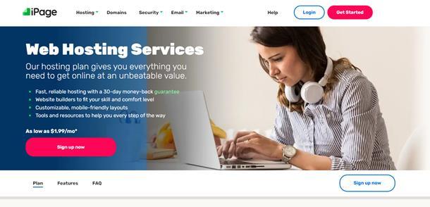 En güvenilir hosting şirketleri - iPage